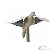 Чучело голубя с машущими крыльями